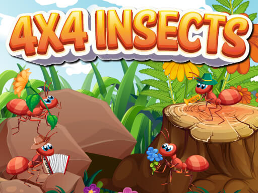 4x4 Insects