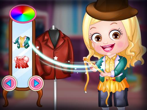 Baby Hazel Dressmaker Dressup