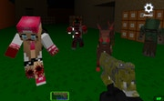 Blocky Combat SWAT - Killing Zombie
