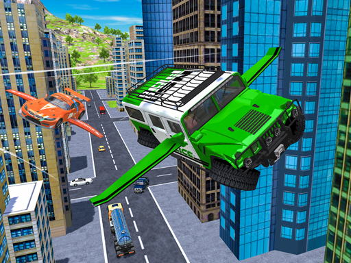 Flying Car Extreme Simulator