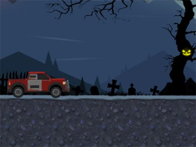 Uphill Halloween Racing