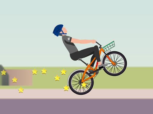 Wheelie Biker
